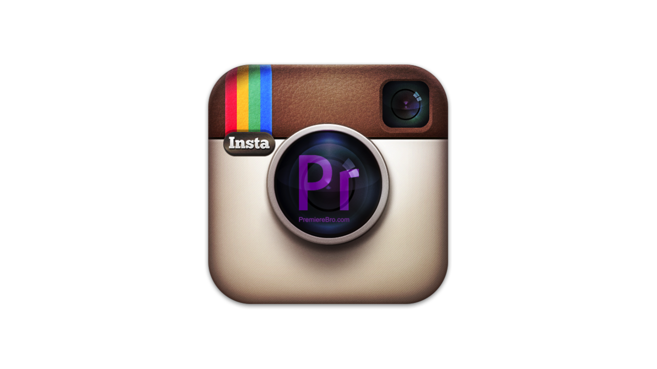Premiere Pro Instagram IOS Settings -