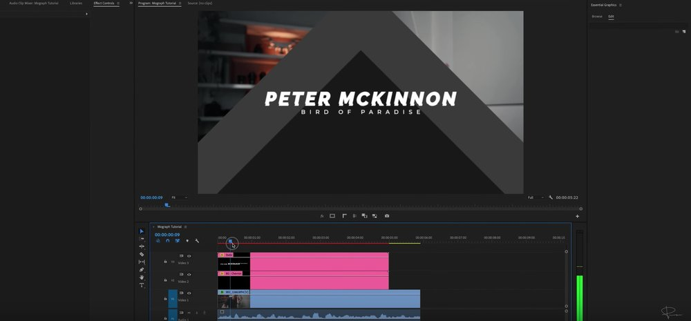 Peter McKinnon Releases Pack of Motion Graphics Templates