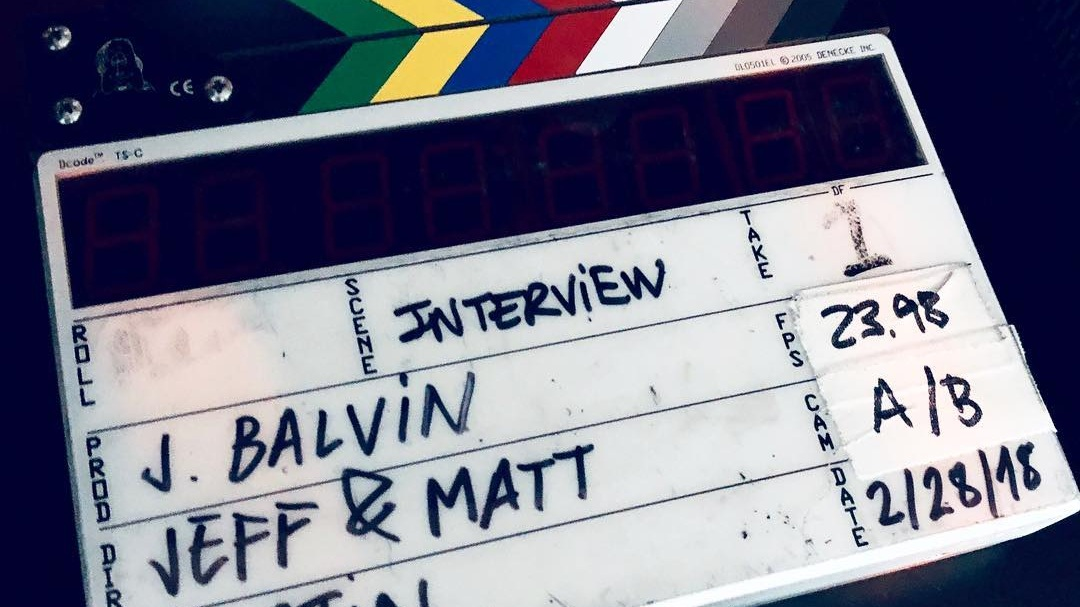 Jeff and Matt's production slate.  Photo via Jeff's Instagram .