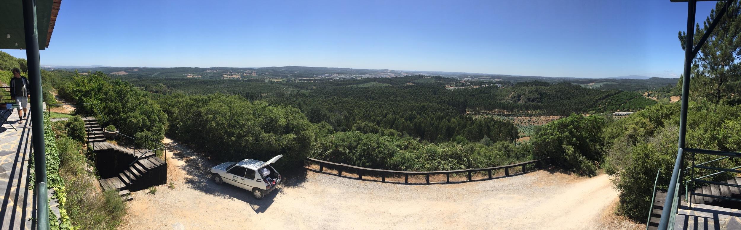 Utsikten från mitt andra hotell