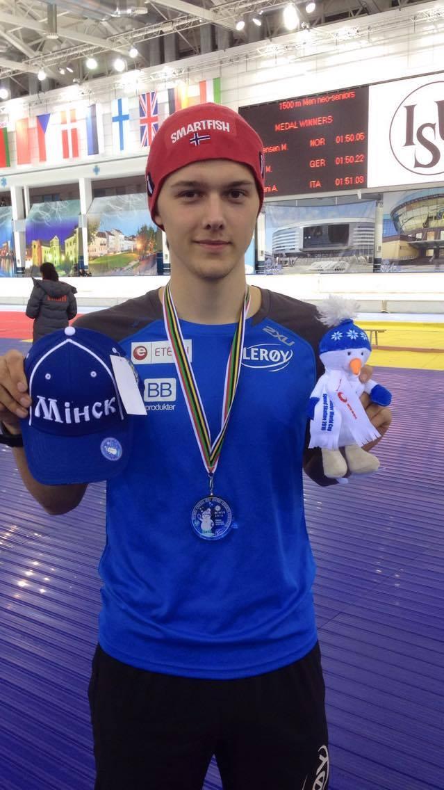 Allan nr.2 på 1500m i Minsk