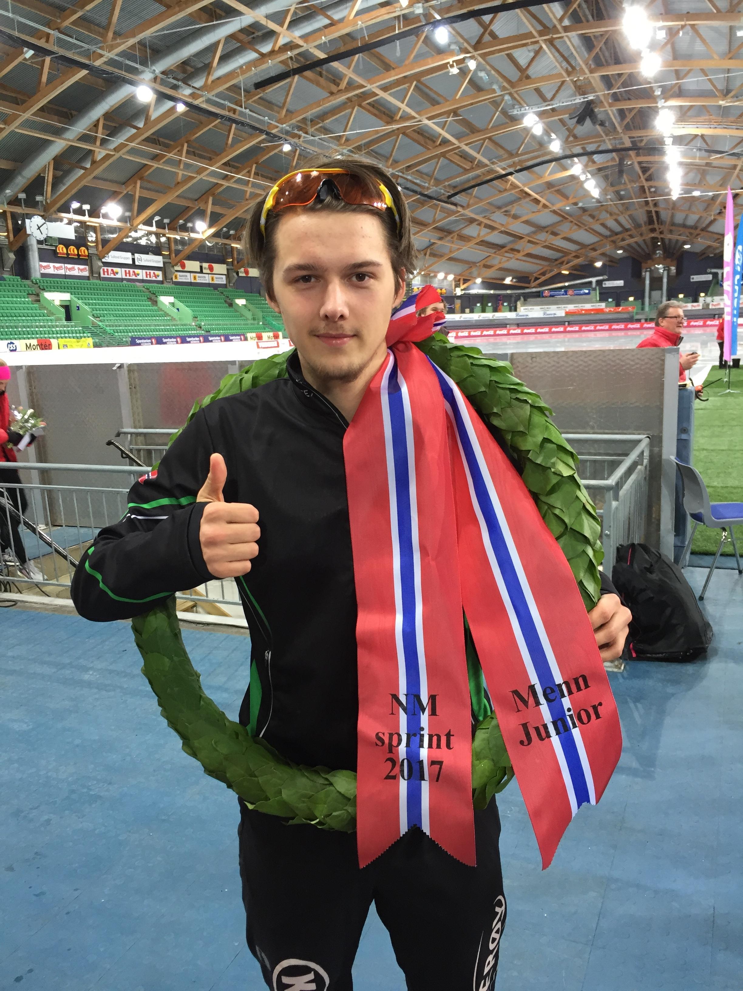 Allan som jr. norgesmester i sprint
