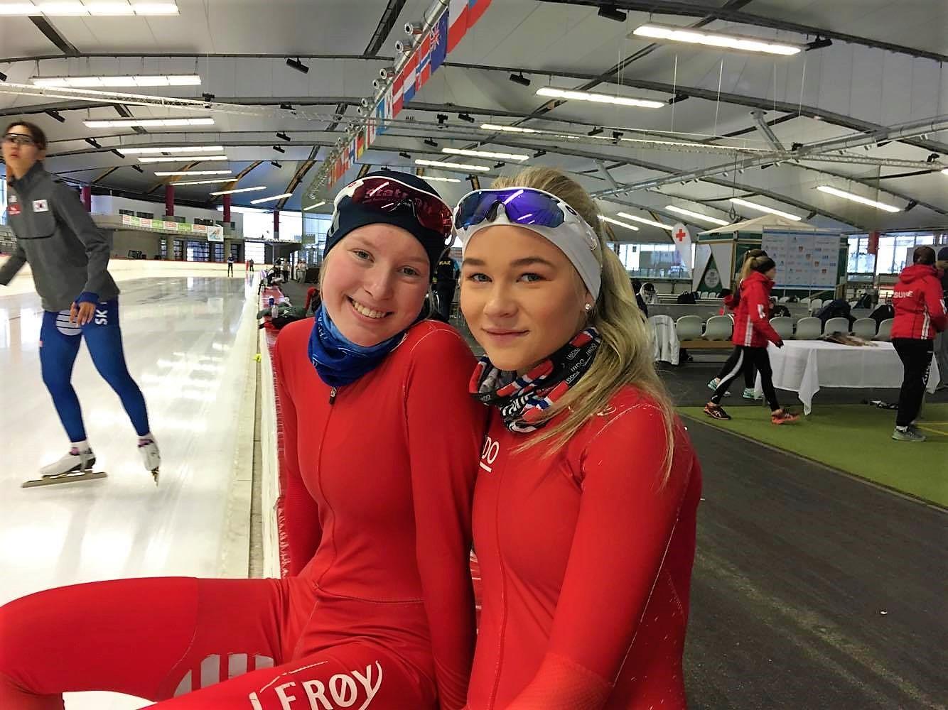 Ragne (til v.) og Ane By Farstad