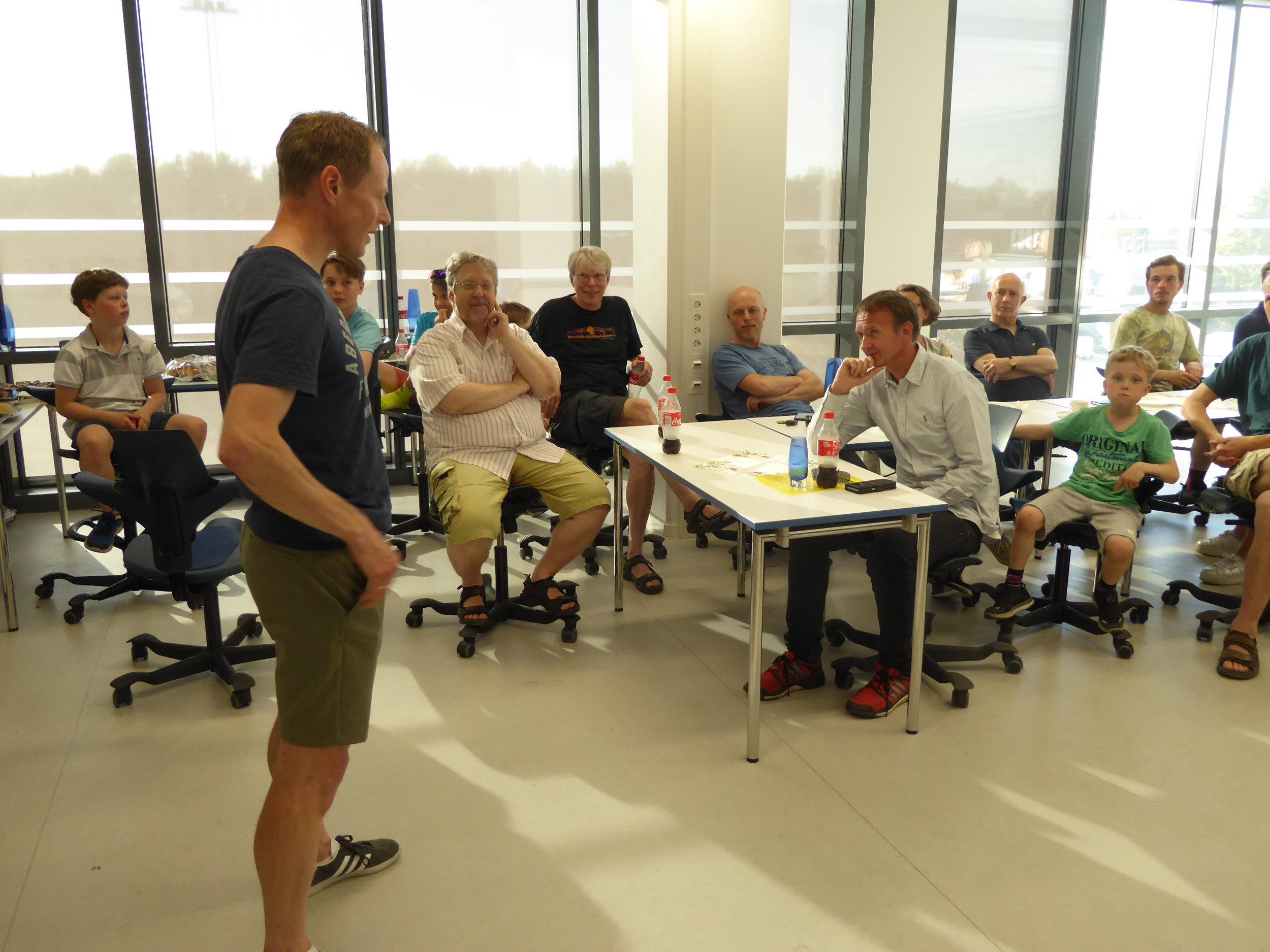 Petter Andersen forteller fra sin karriere.