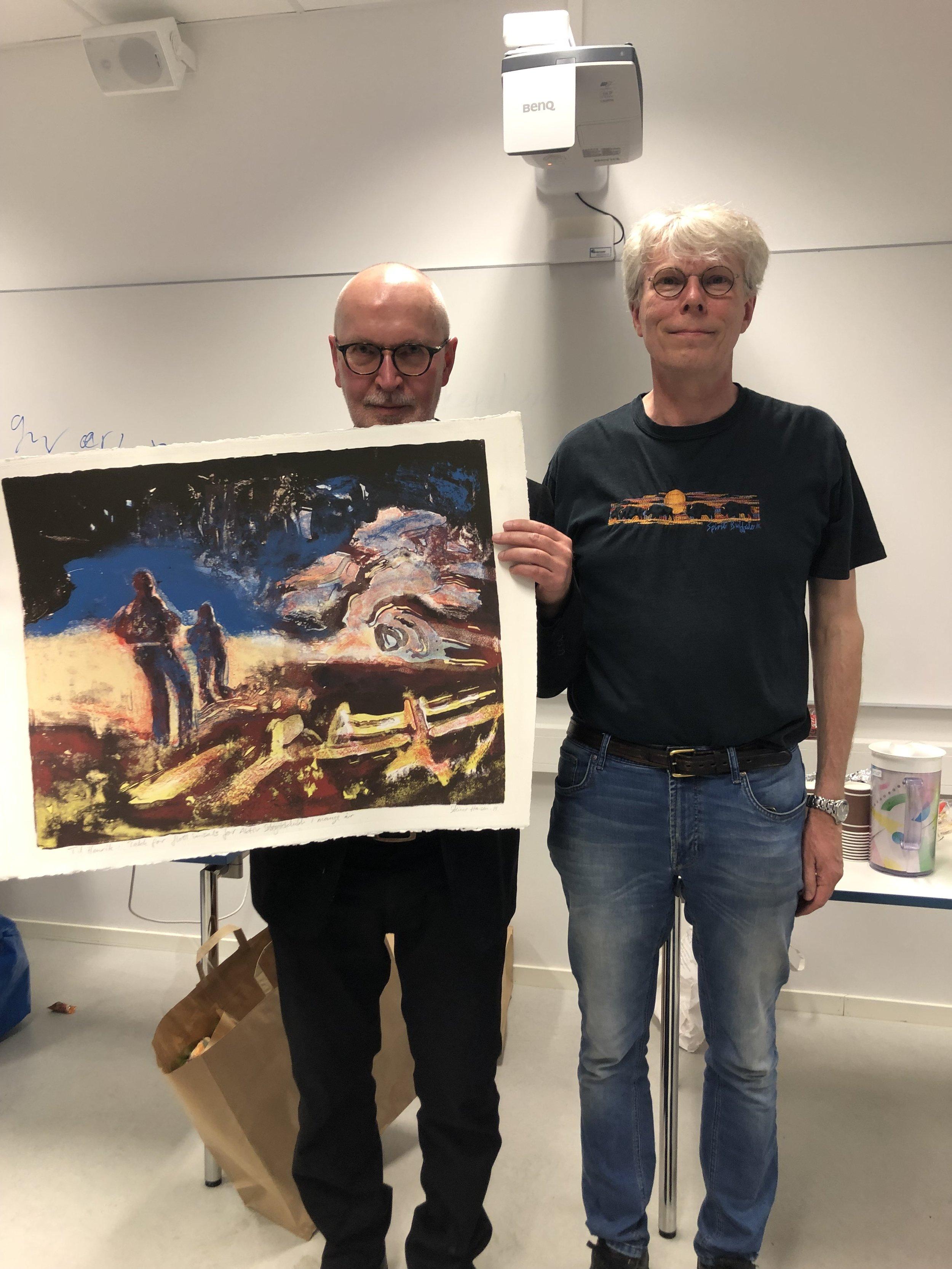 Henrik Stiansen og Snorre Kverndokk