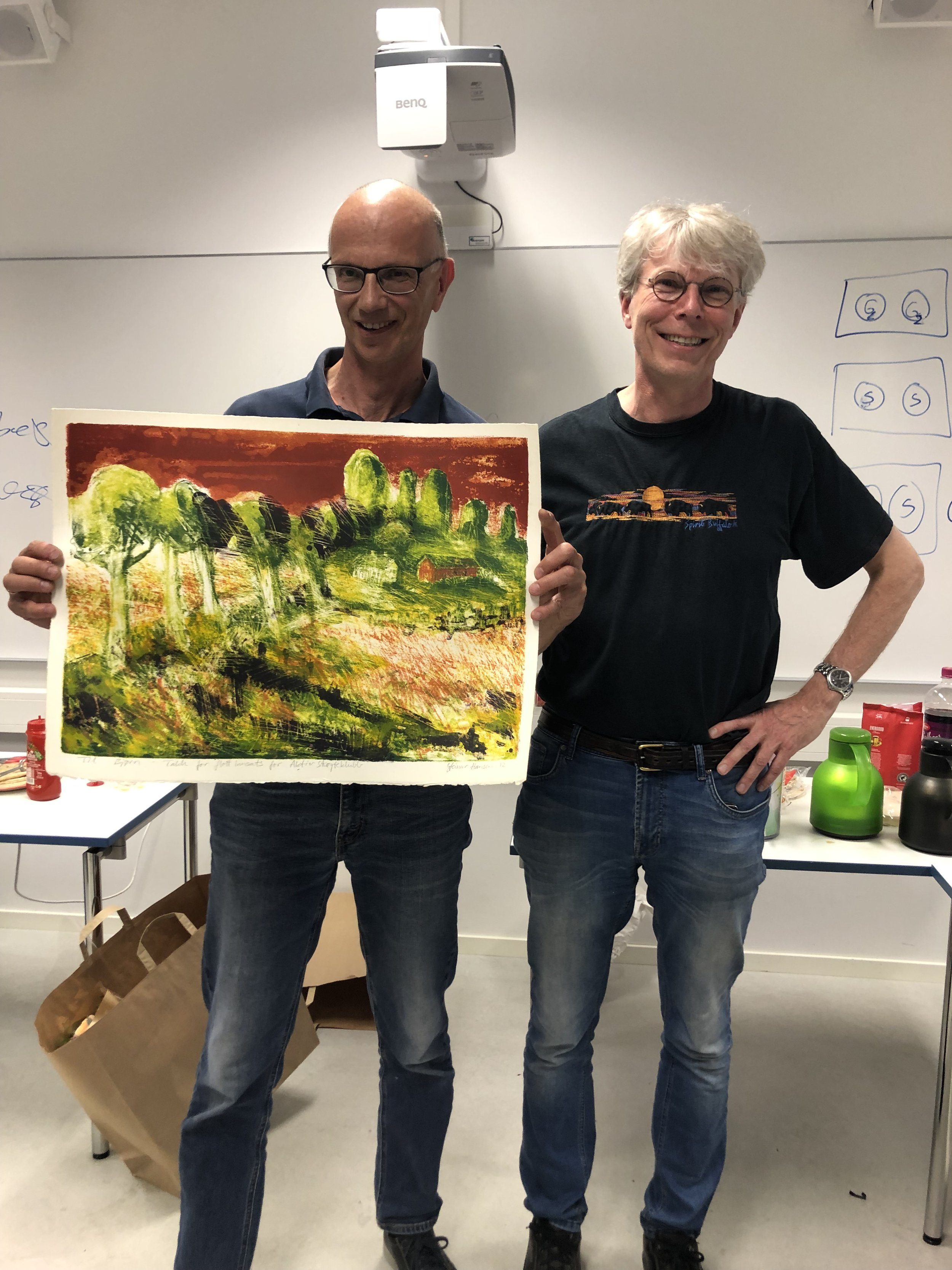 Bjørn Kroken og Snorre Kverndokk