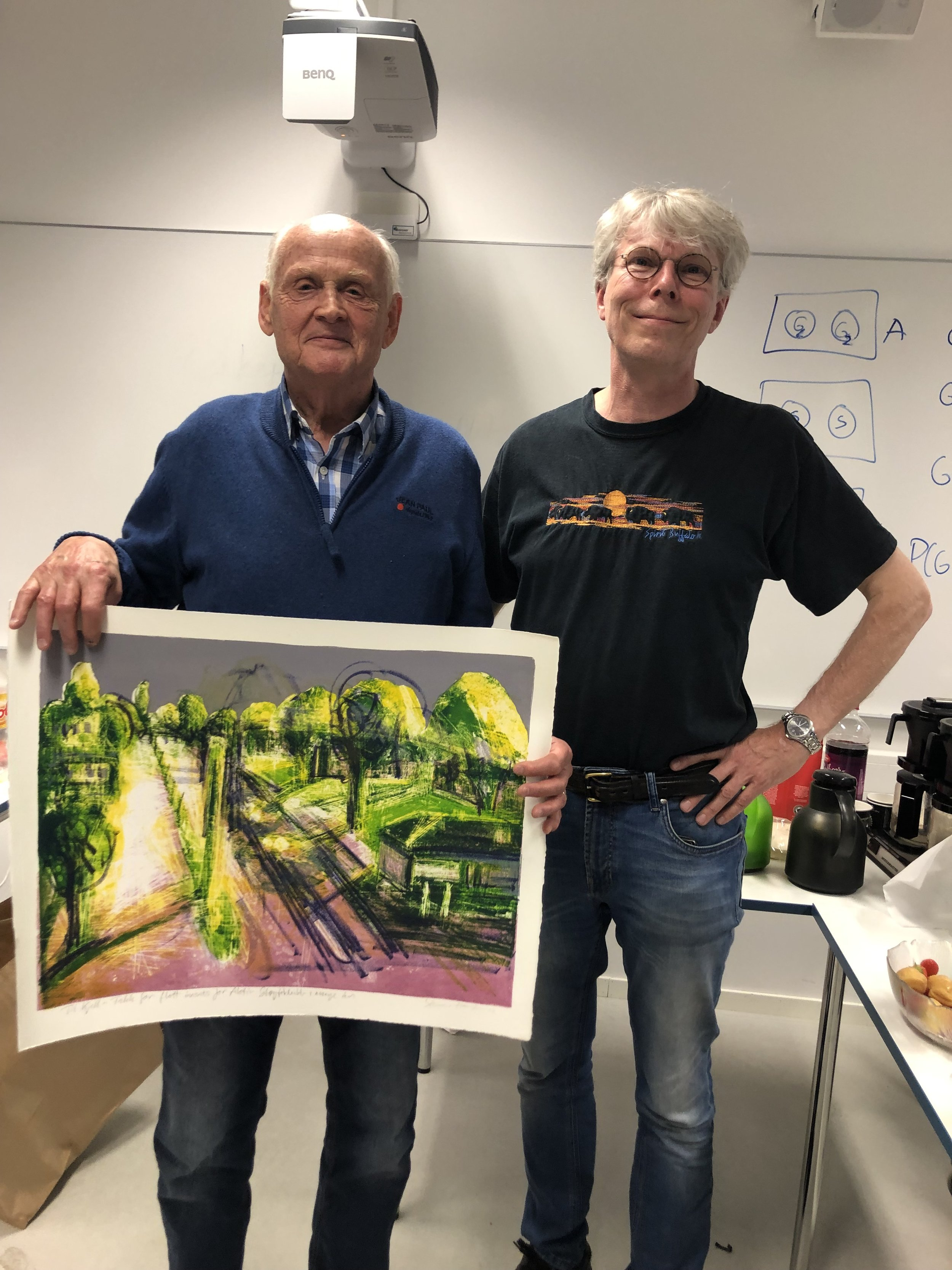 Kjell Svean og Snorre Kverndokk