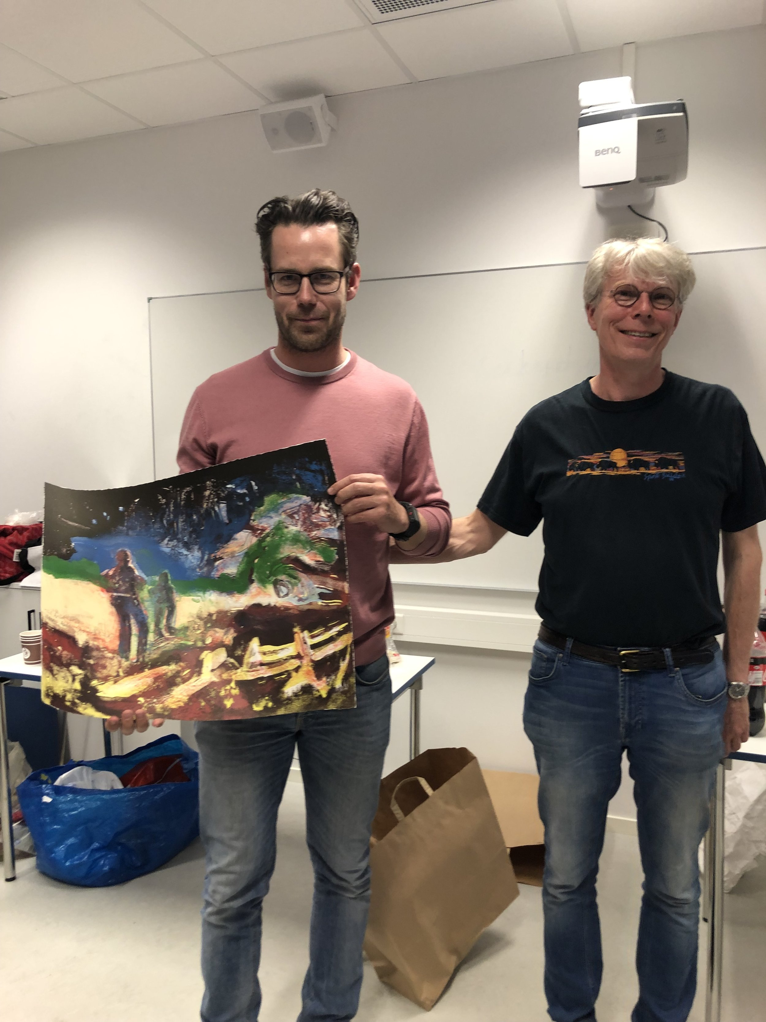 Arild Nebb Ervik og Snorre Kverndokk