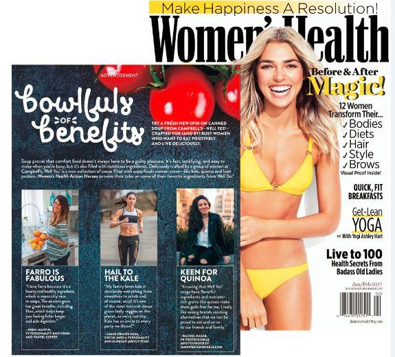 Women's Health January/February issue