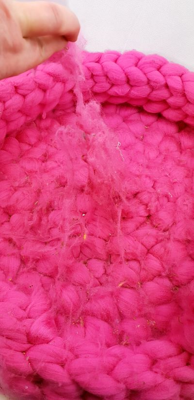 Pink dog basket giant yarn before Pulled opt.jpg