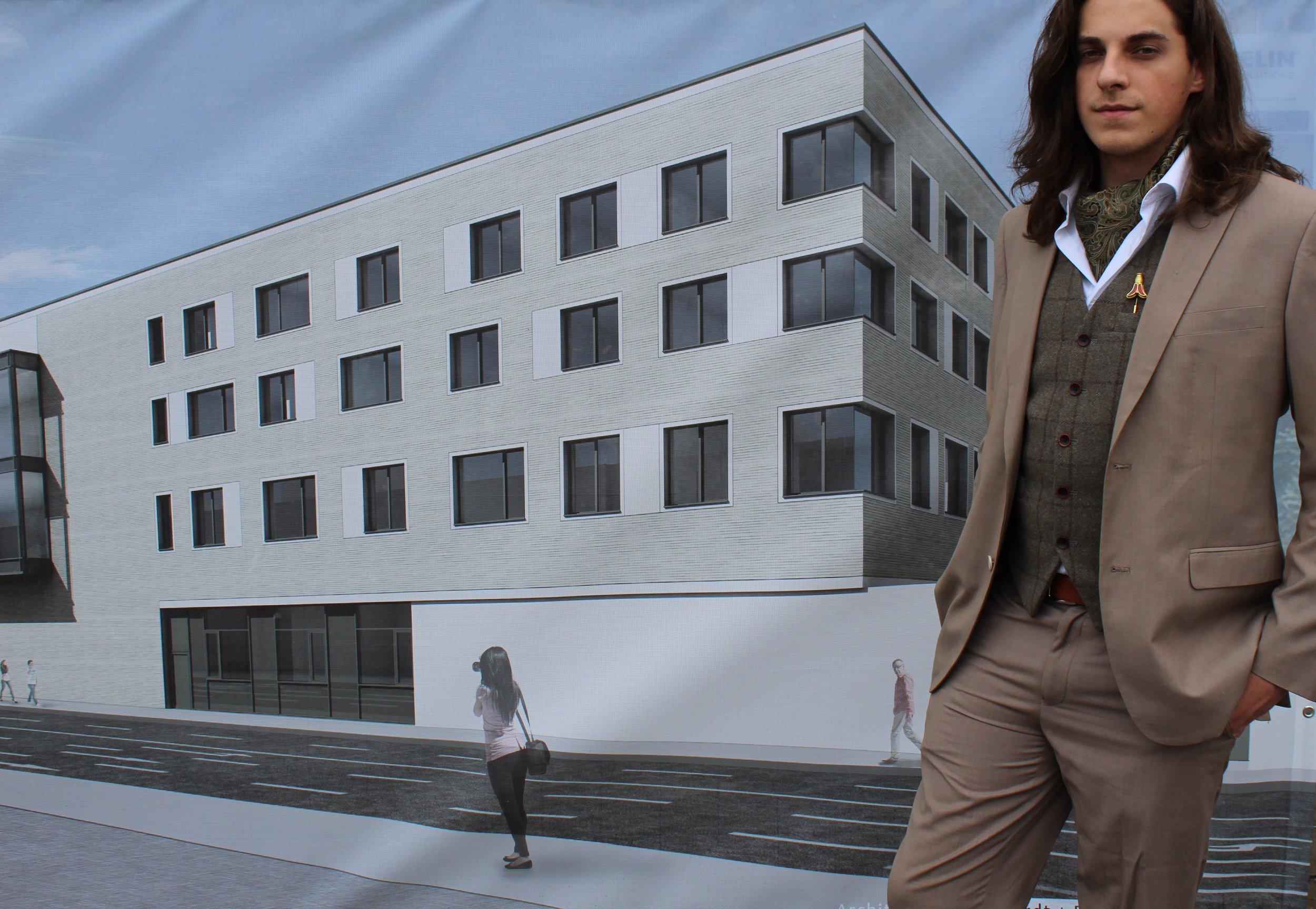 So soll der Neubau Römisch-Germanisches Zentralmuseum am Ende aussehen.