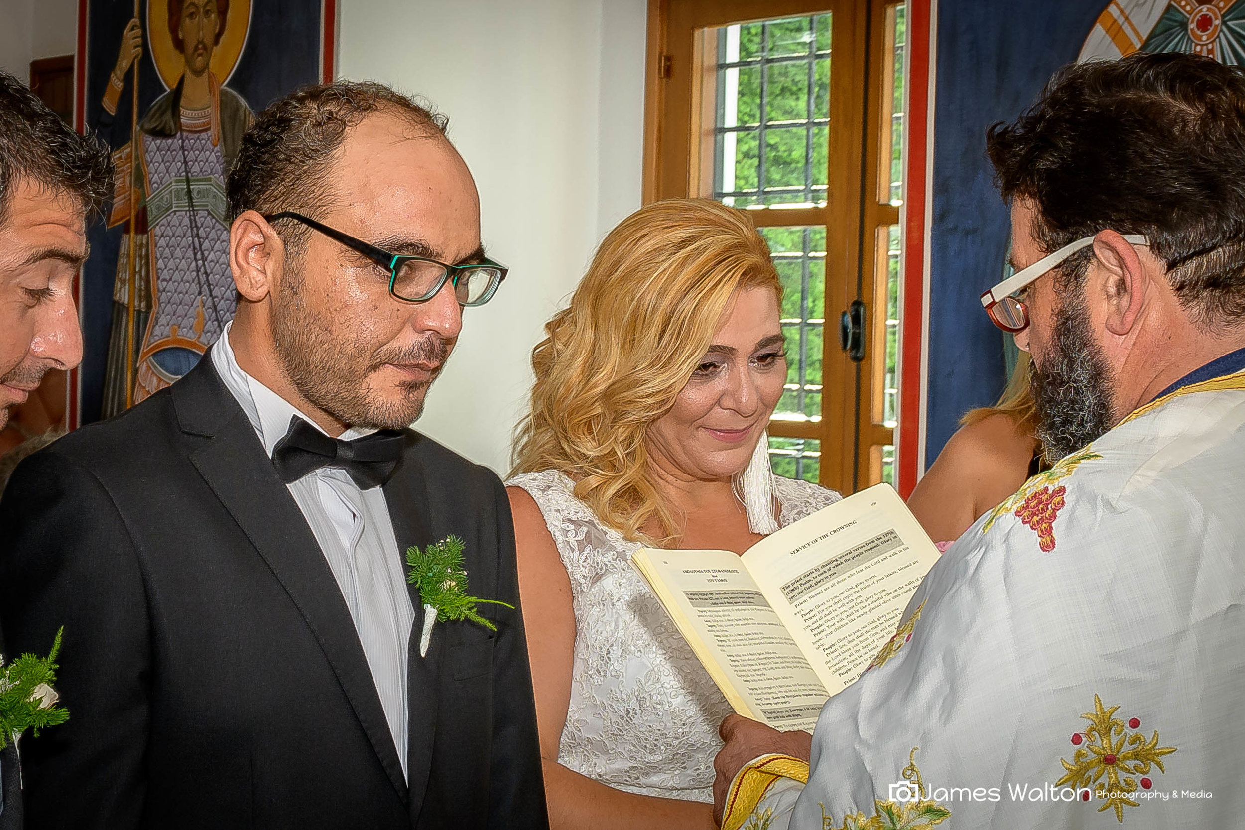 James is an excellent photographer, he did an excellent job for our wedding - Nicole Kyriakos September 2018