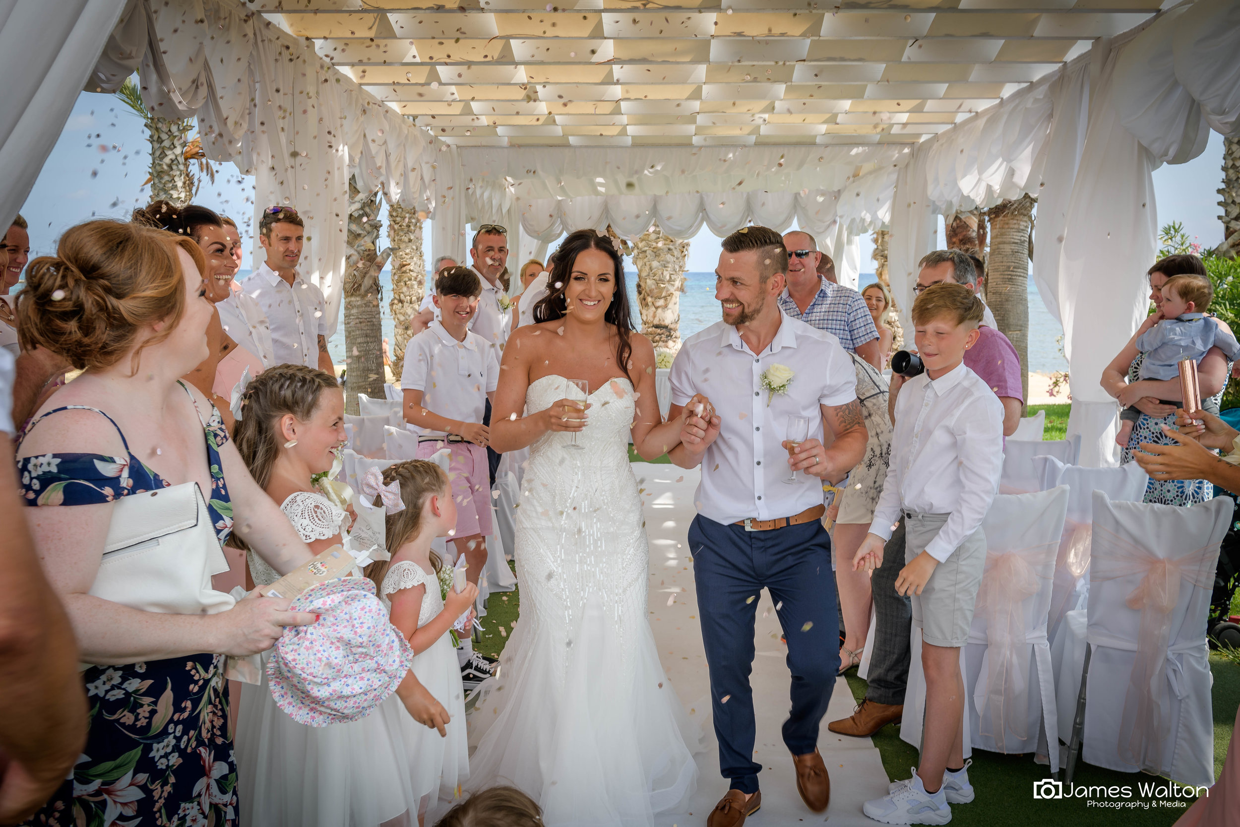 Fab from start to finish... used for photos and video. Excellent professional work... Thankyou for capturing some precious memories. - Jenna Wilkinson - 2018 - Phaeton Beach Paphos