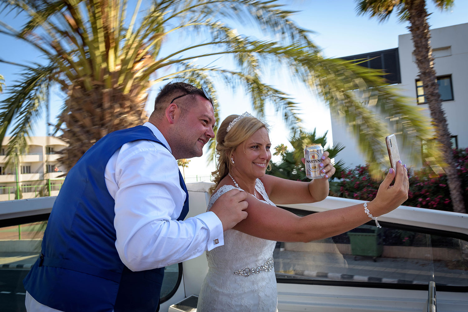 We got married in 1st of July in Paphos. James and the family were brilliant. They couldn't do enough for us, helped out with the wedding also in anyway they could. The photos and videos are absolutely amazing, would recommend James Walton and his family for your wedding. Absolutely amazing. - Sara Kelly 1 July 2019