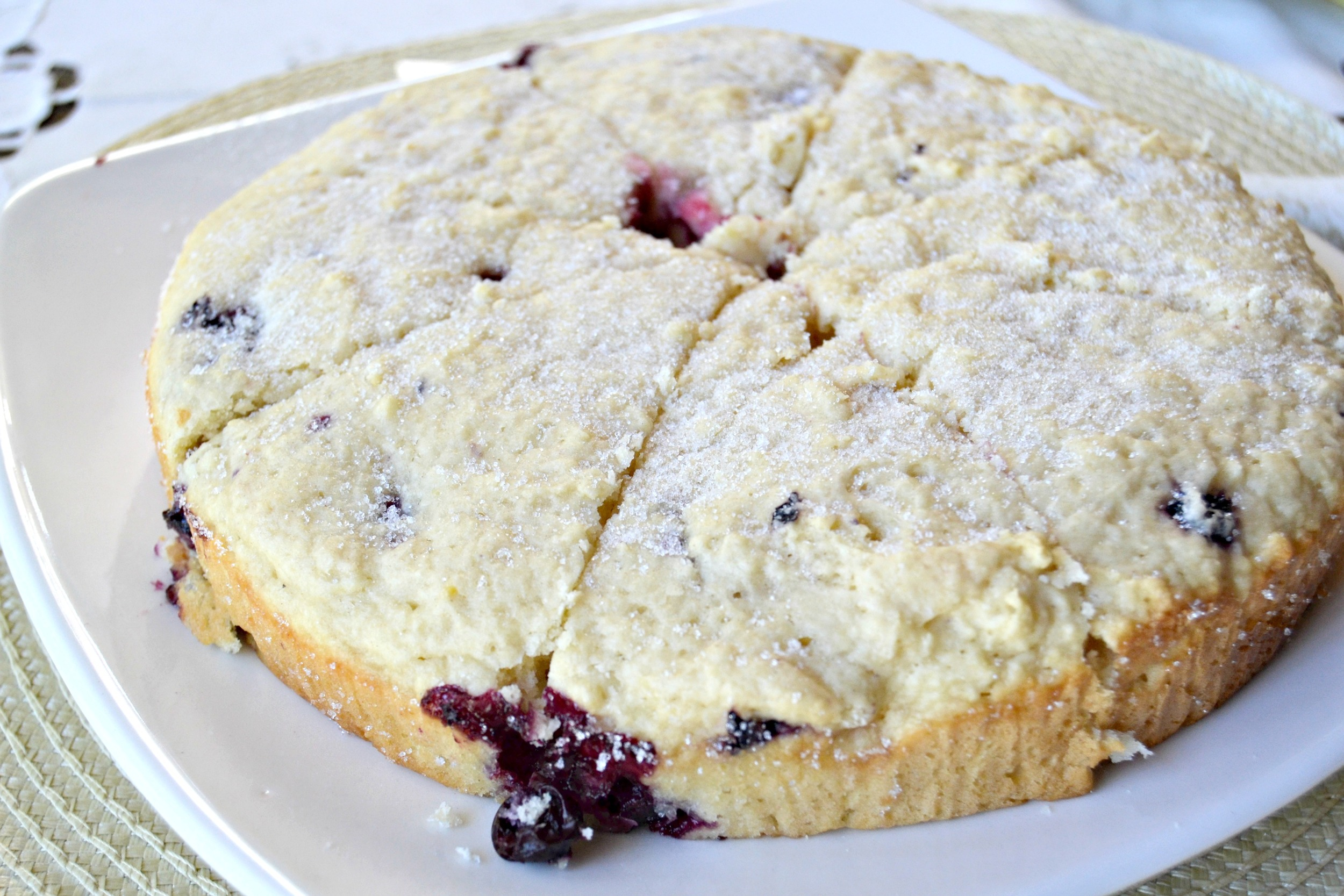 Hot and fresh from the oven, these   Buttermilk Blueberry Scones  will warm up even the chilliest of mornings.