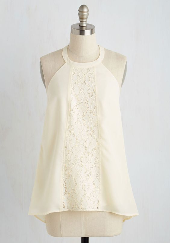 Easy breezy! A top like this could be finished in one night!   ModCloth.com  | $39.99   Call to a Halter Top