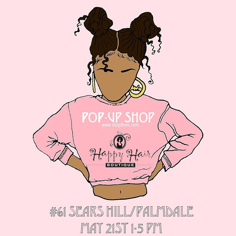 Come out to ShopTheCC's S/S 16 Pop-Up Shop. Where you will find the trendiest collectibles, haircare products, style tutorials & sweet treats.