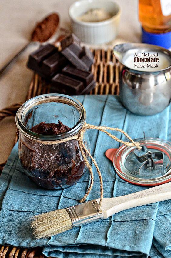http://gourmandeinthekitchen.com/2013/chocolate-oatmeal-face-mask-recipe/