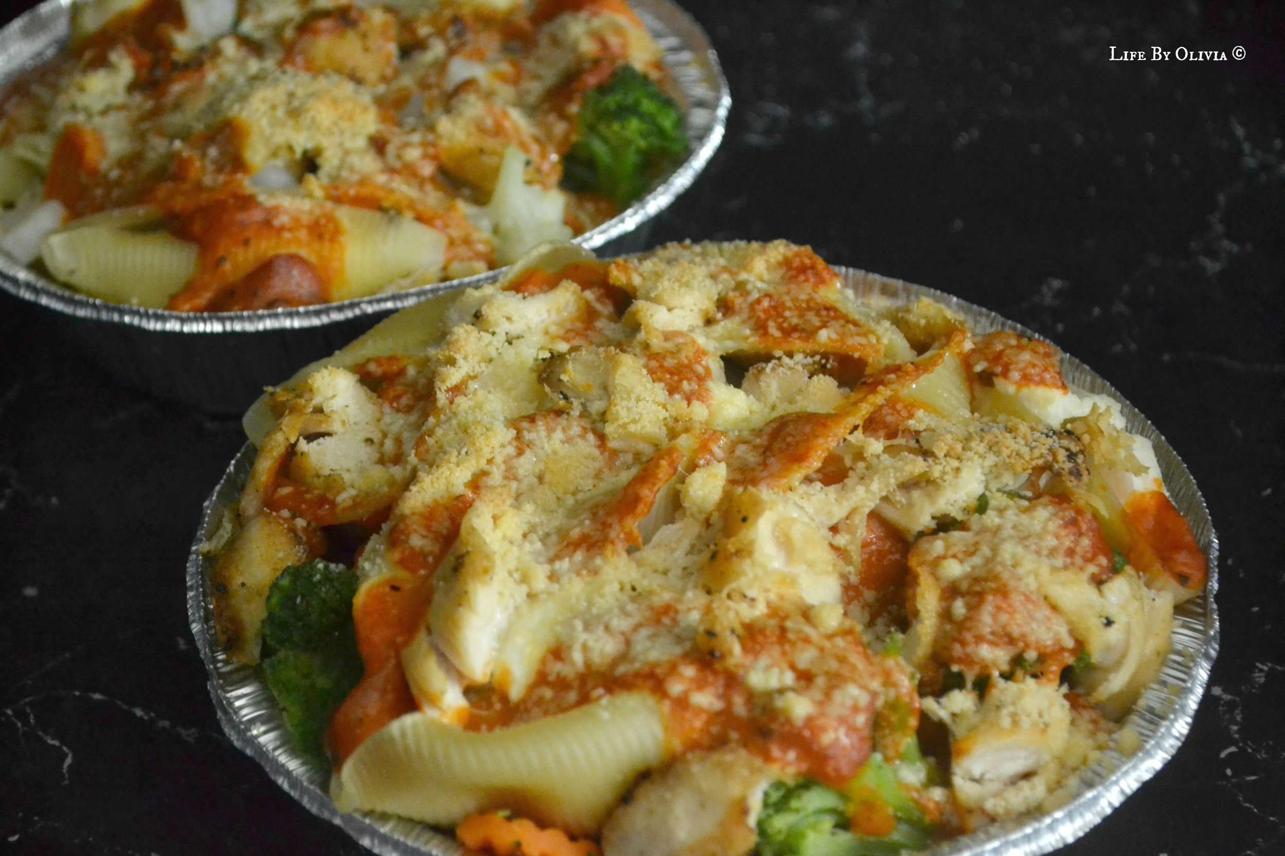 Chicken and Shrimp Stuffed Shells  -  This recipe was sooooo good, I can't believe it took so long for me to share it with you guys! If you're looking for the perfect Valentine's Day/Anniversary/Date Night recipe, try this one and your lover will definitely be impressed!