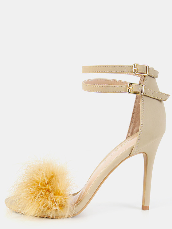 Single Sole Feather High Heels.jpg