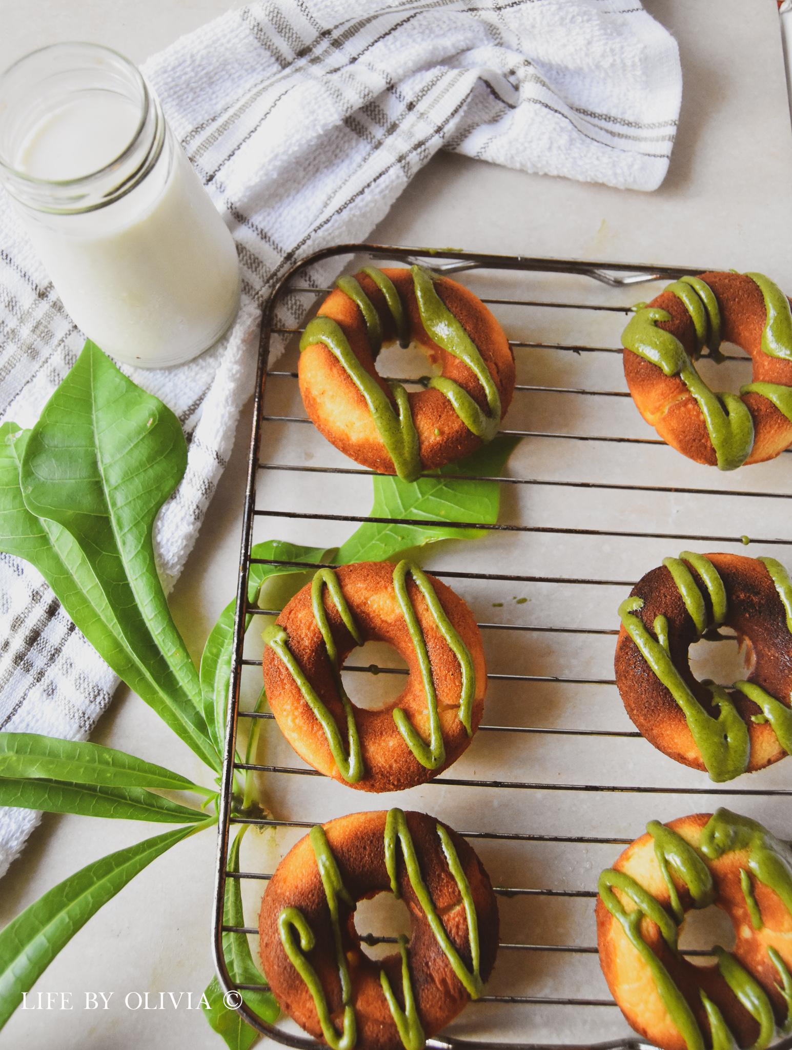 Mint Leaf Doughnuts Matcha Frosting 2.jpg