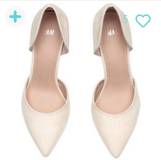 H&M Pumps - Beige