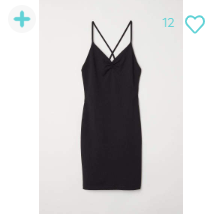 H&M Short Dress