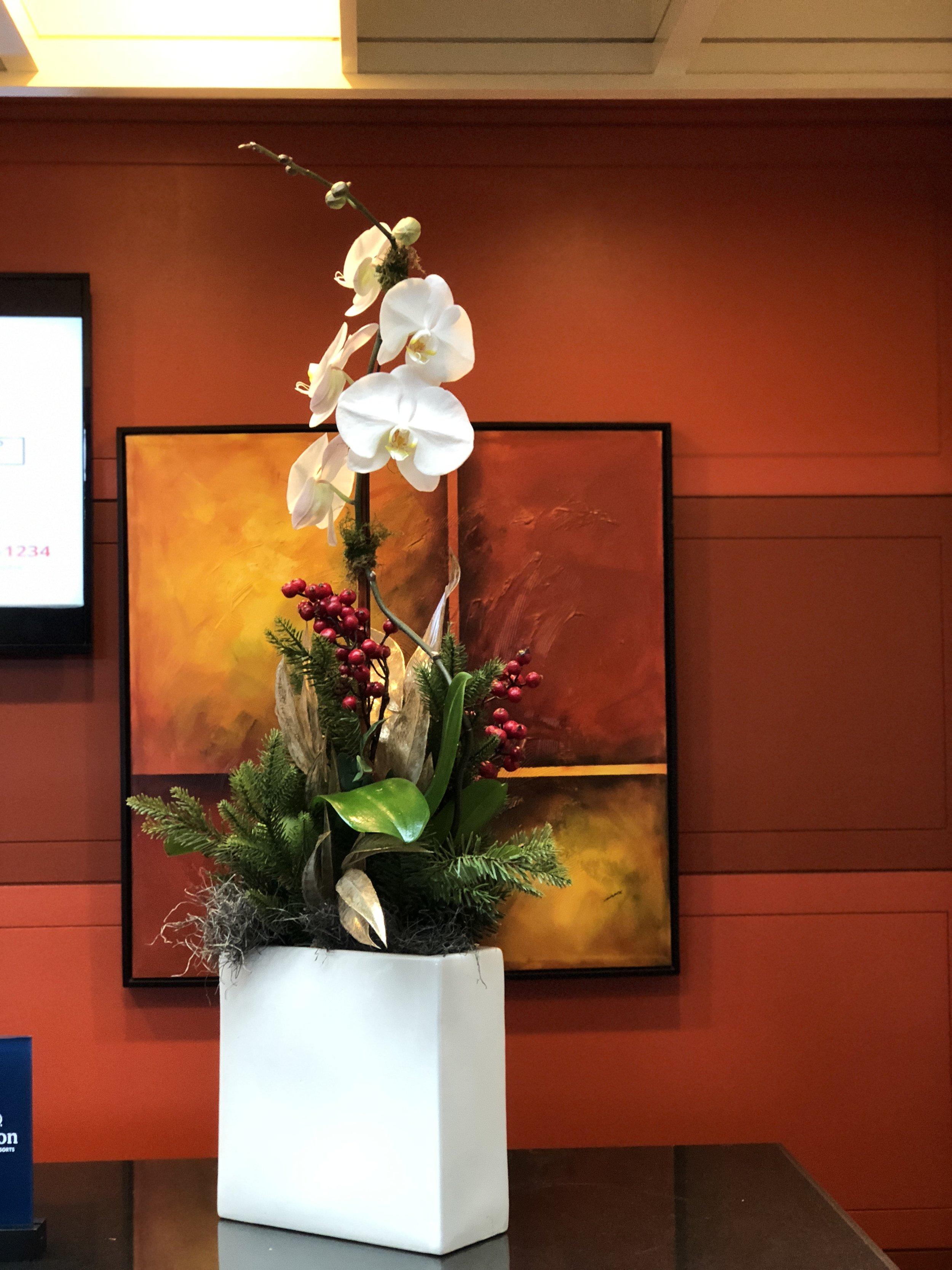 Living Art & Flowering Plants