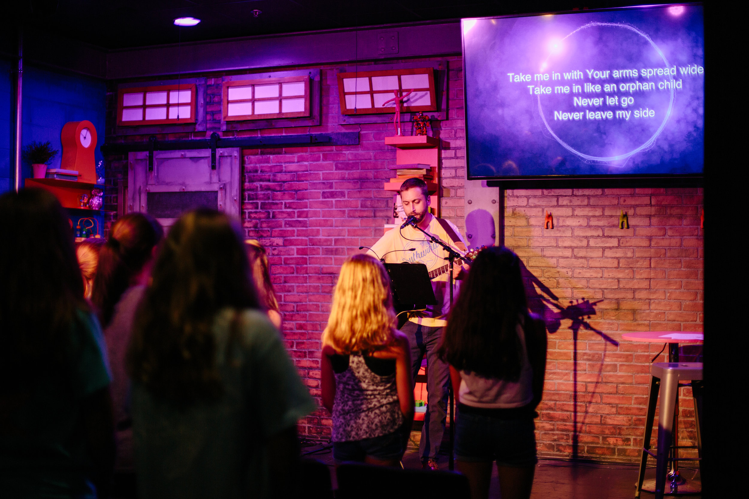 Surge | Middle School - Sundays 4-6 p.m. | Herndon, Lake Mary, and Waterford Campuses