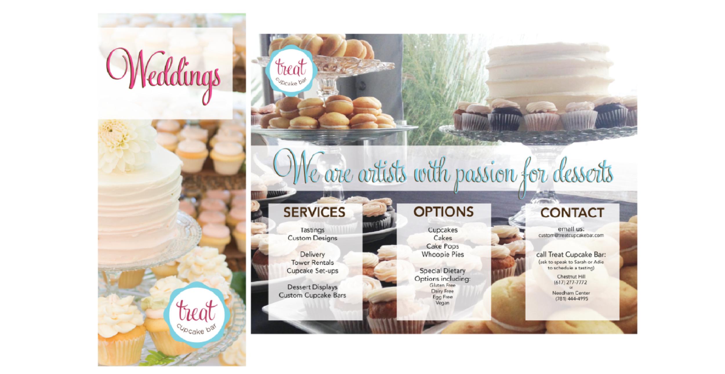 Dessert Wedding Brochure