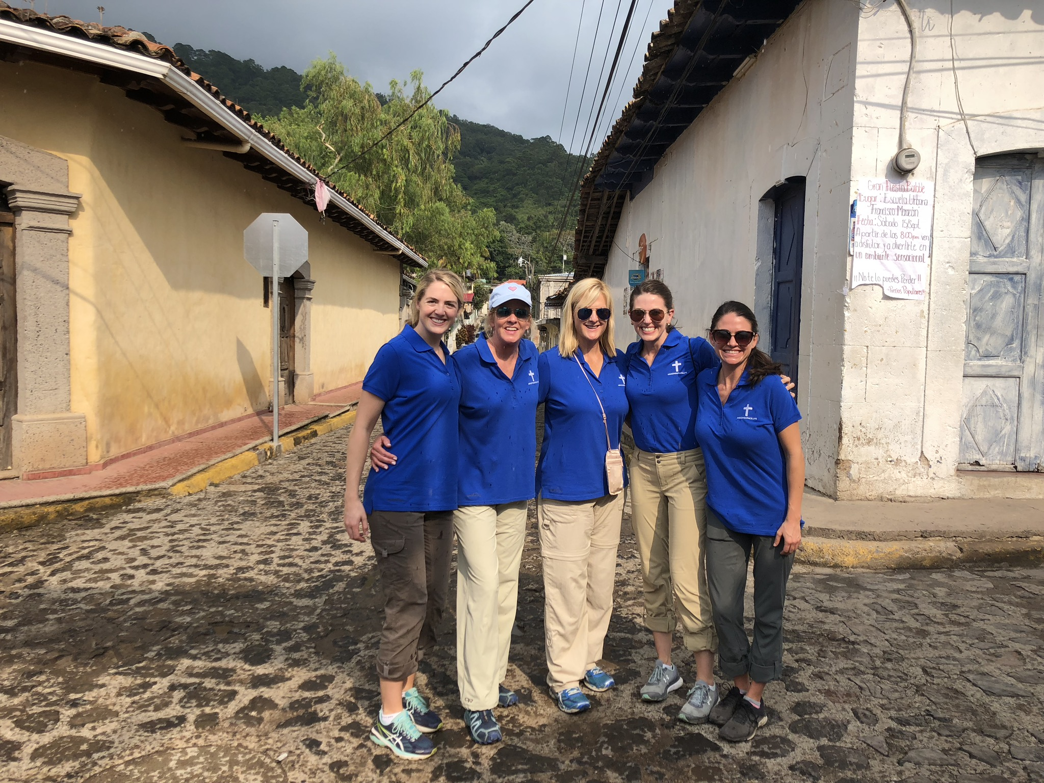 Several members of AmazinGrace.Life on a recent mission trip to Honduras