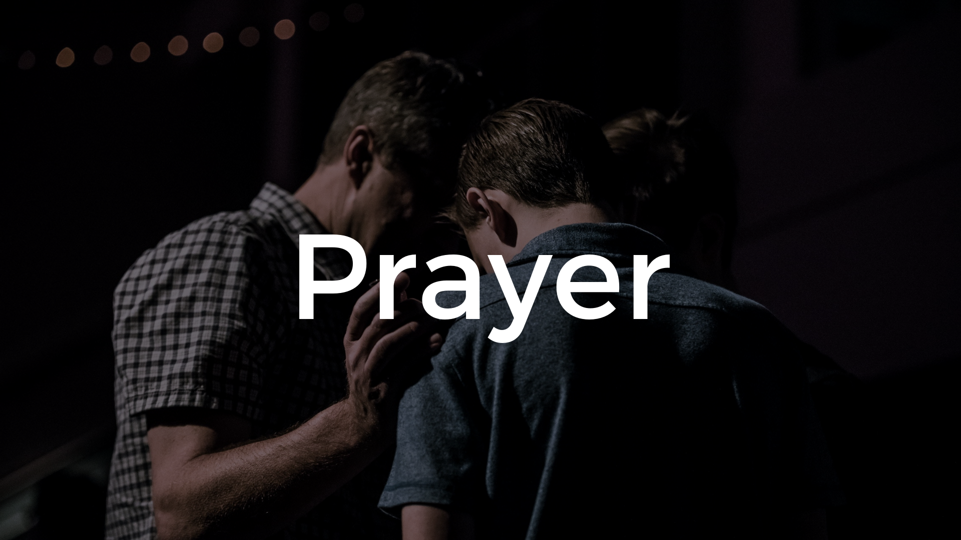 Prayer — First Moore Baptist Church