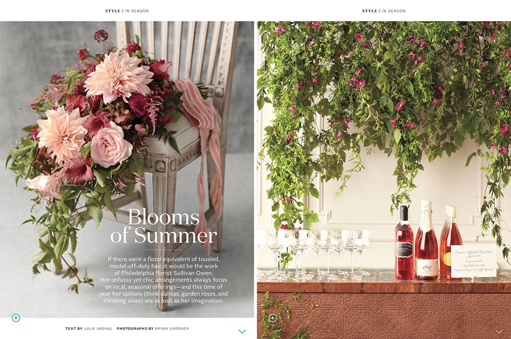 Martha Stewart Weddings Summer 2014