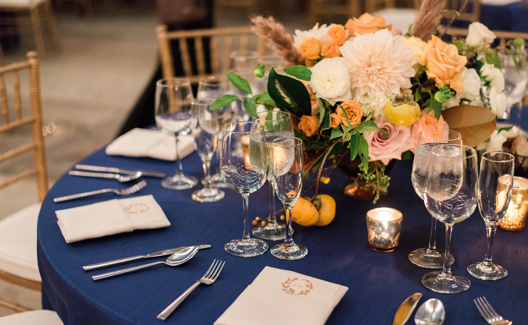 9-Sullivan-Owen-Fall-Wedding-Gold-Cream-Navy-Horticulture-Center.jpg