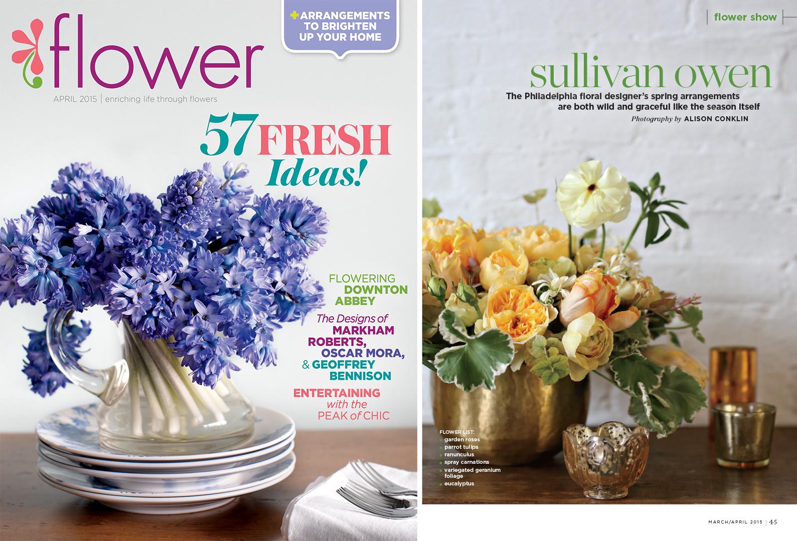 Flower Magazine April 2015