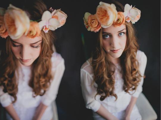 Peach-Floral-Crown-Sullivan-Owen-Philadelphia