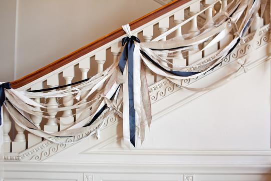 Sullivan-Owen-Philadelphia-Floral-Event-Design-Bulap-Linen-Ribbon-Swag