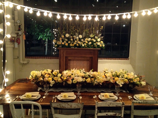 Sullivan-Owen-Philadelphia-Wedding-Florist-Yellow-Dinner-Party-3