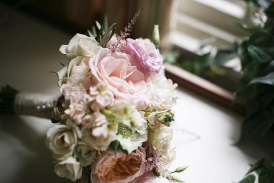 Pink-Sage-Bridal-Bouquet-Sullivan-Owen-Philadelphia-Wedding