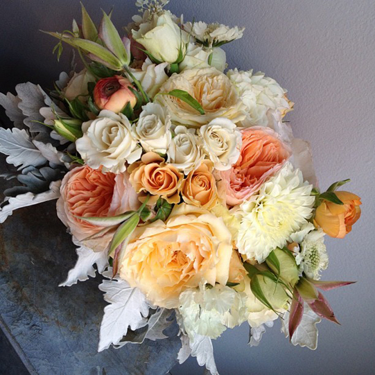 Sulliva-Owen-Floral-Design-Philadelphia-Peach-Yellow-Ivory-Bridal-Bouquet