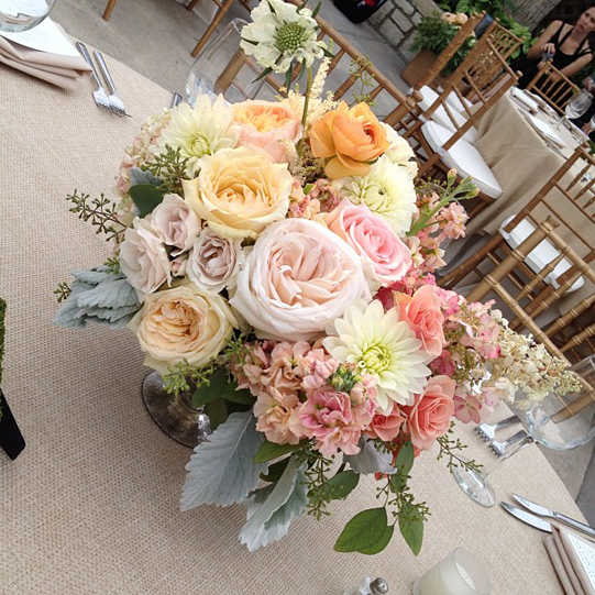 Sullivan-Owen-Philadelphia-Floral-Design-Peach-Yellow-Horticulture-Center-Wedding