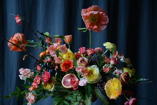 Coral-Orange-Fruit-Flowers-Sullivan-Owen-Philadelphia