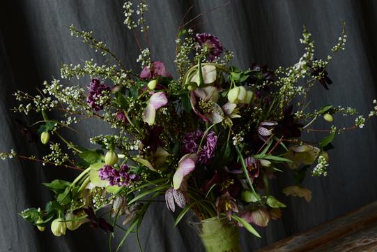 Sullivan-Owen-Spring-Wedding-Bouquet-Fritillaria-Hellebore-Philadelphia