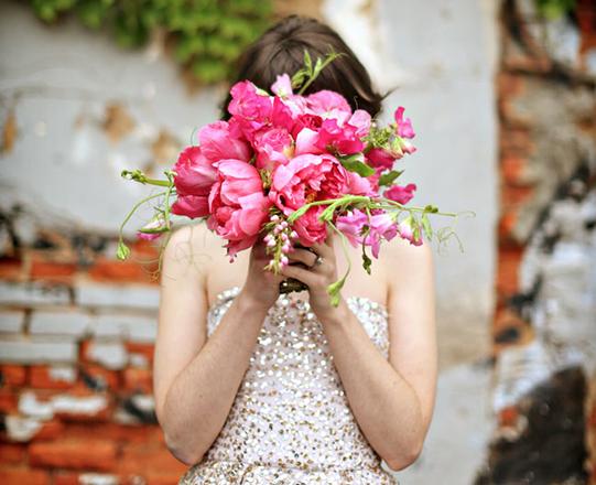 Sullivan-Owen-Hot-Pink-Bouquet-Philadelphia-Wedding-Florist-Alison-Conklin