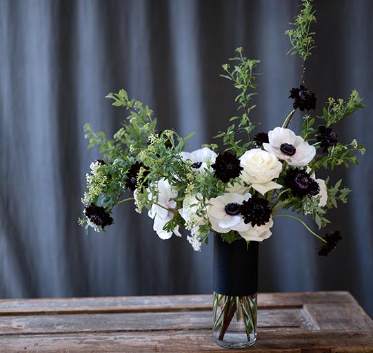 Sullivan-Owen-Black-White-Floral-Design-Oscars-2014