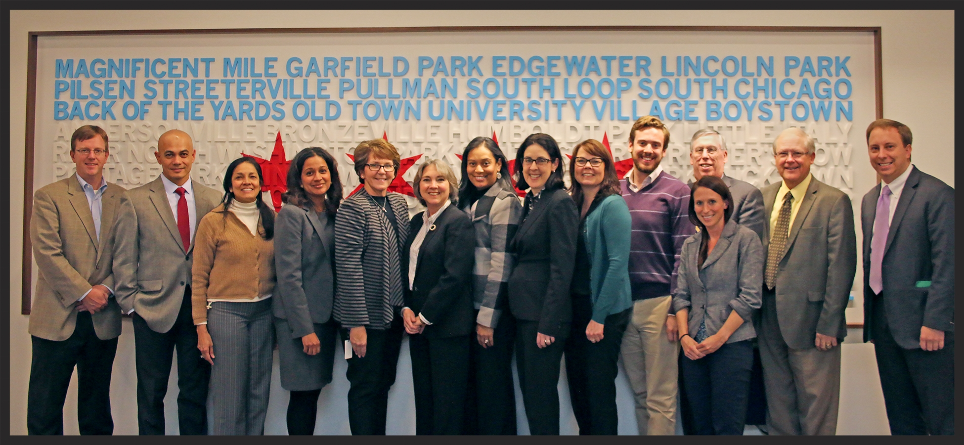 The iat4ss leadership team met in Chicago with Key Stakeholder in November of 2015.