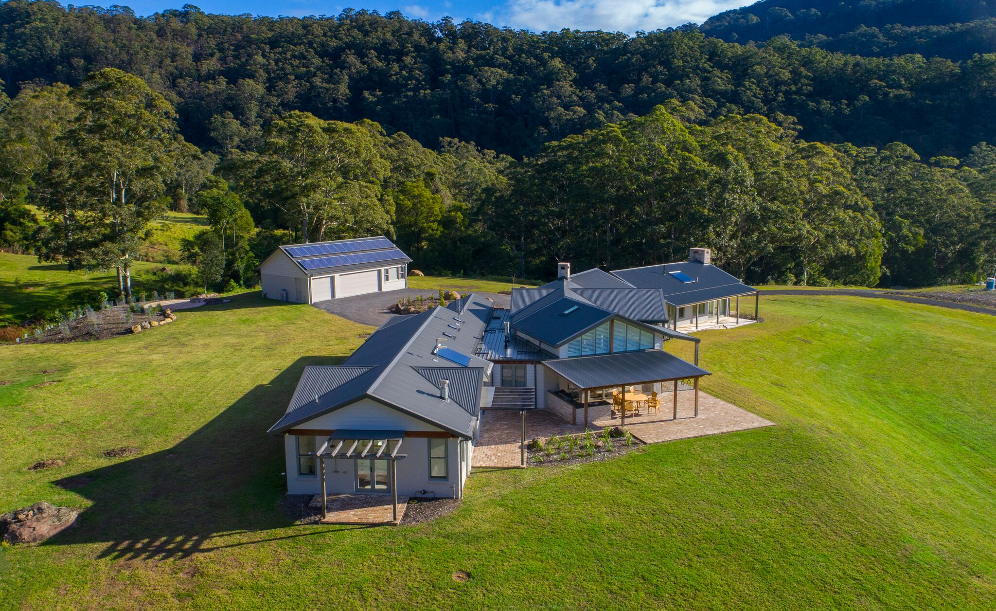 THE PROJECT IN KANGAROO VALLEY, NEW SOUTH WALES, AUSTRALIA.