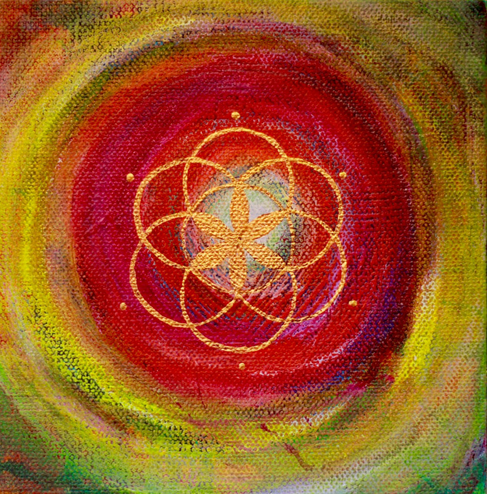 """""""Seed of Life 2"""" 6"""" x  6"""""""
