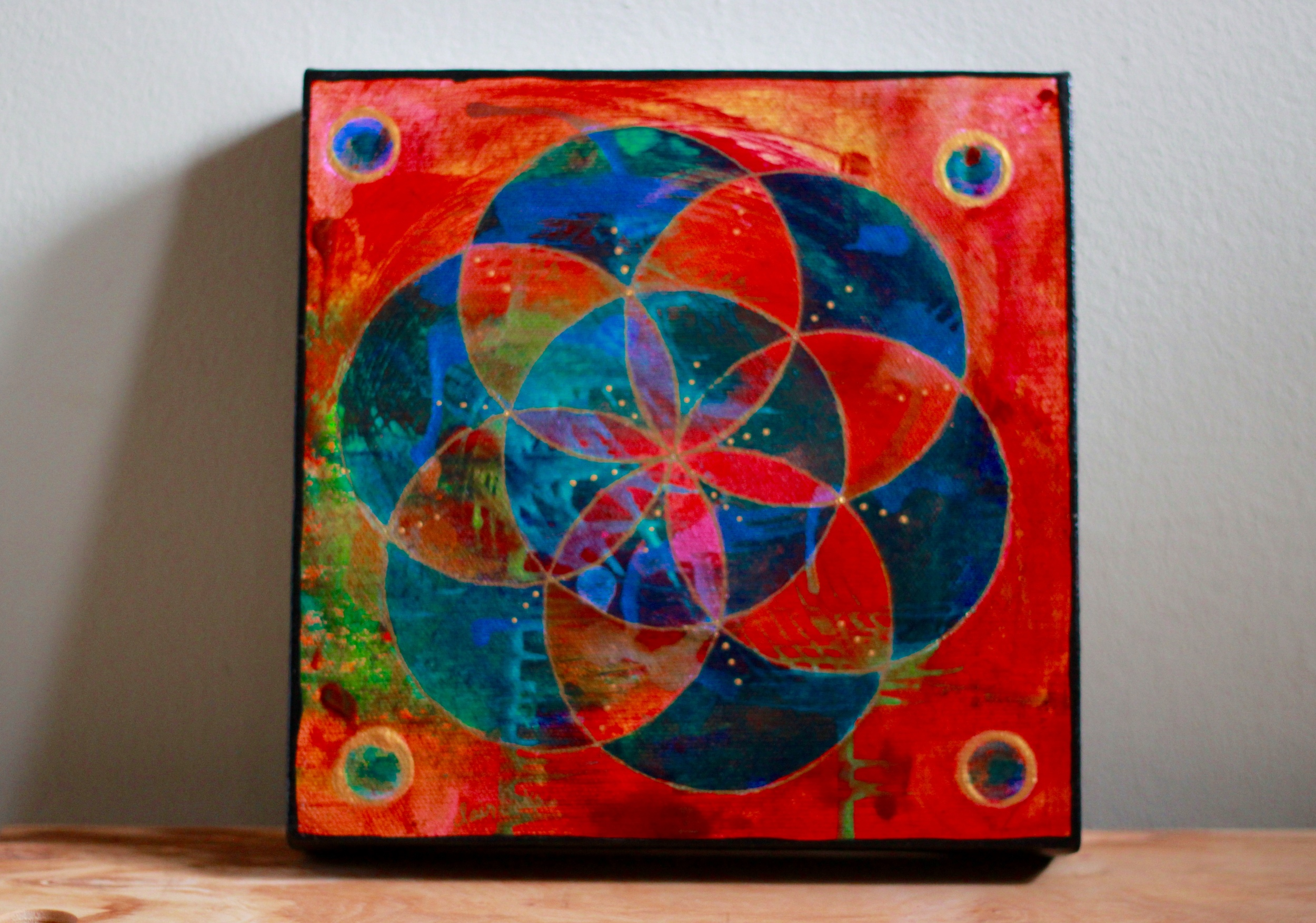 """""""Seed of Life 35"""" 8"""" x 8"""""""