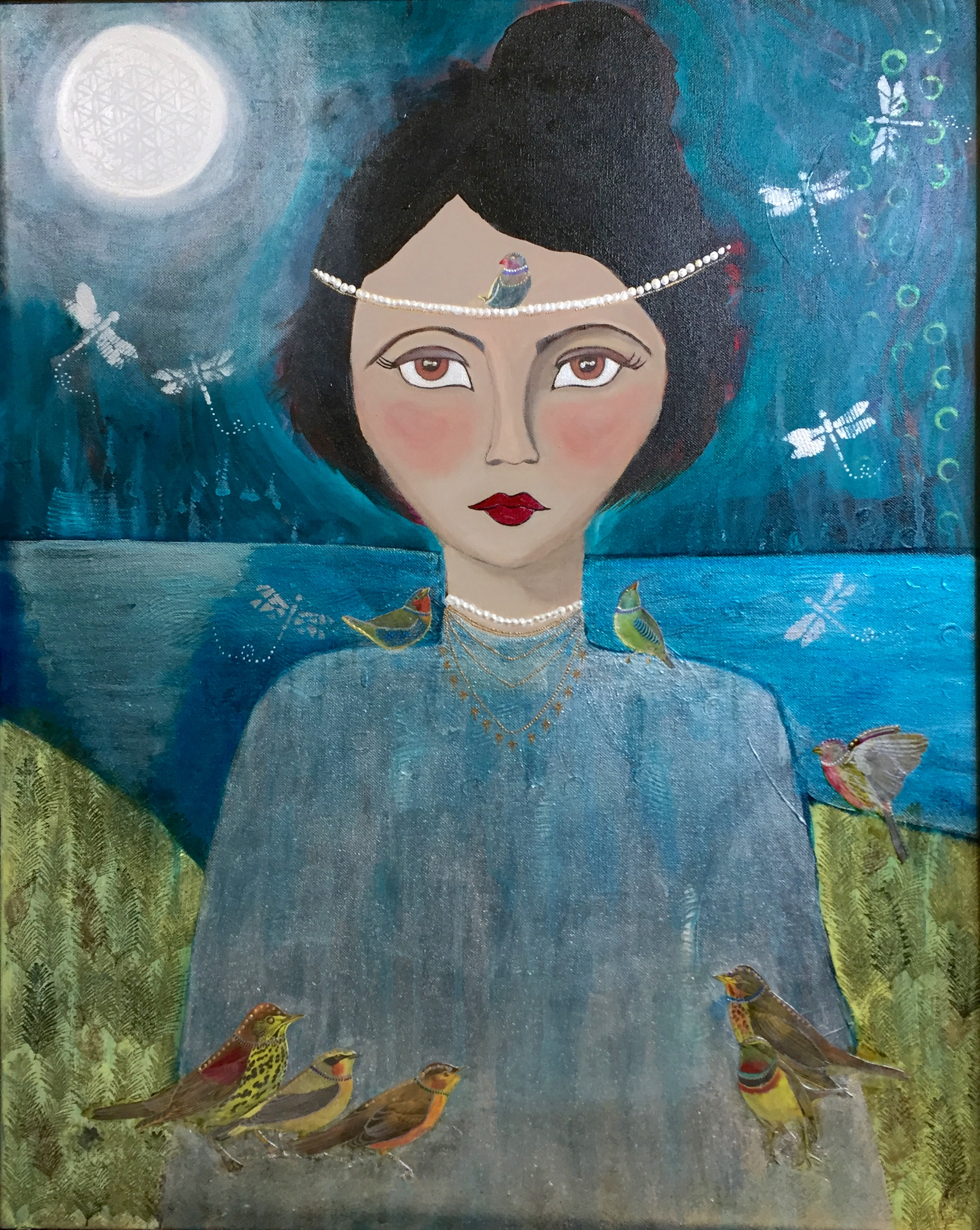 """""""Lady of the Lake""""  30"""" x 36"""""""